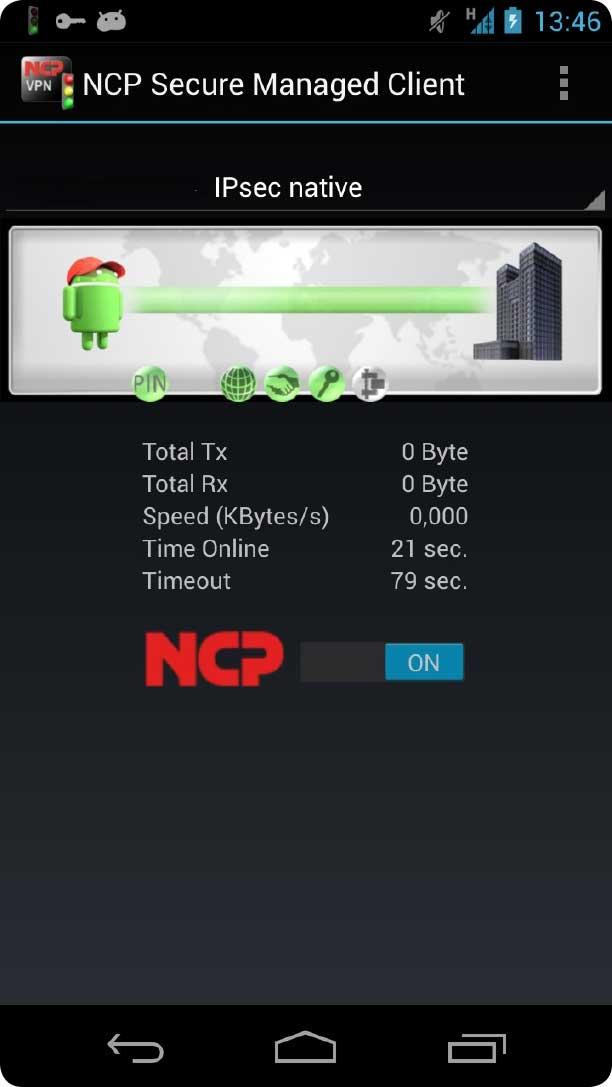 Einfach zu bedienender VPN Client für Android Smartphones.