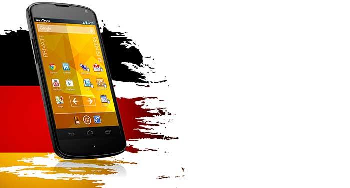 Smartphone-Sicherheit »Made in Germany«
