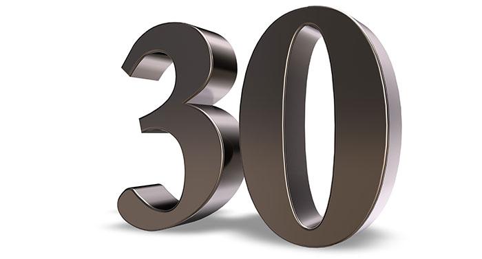 30 Jahre erfolgreiche Partnerschaft