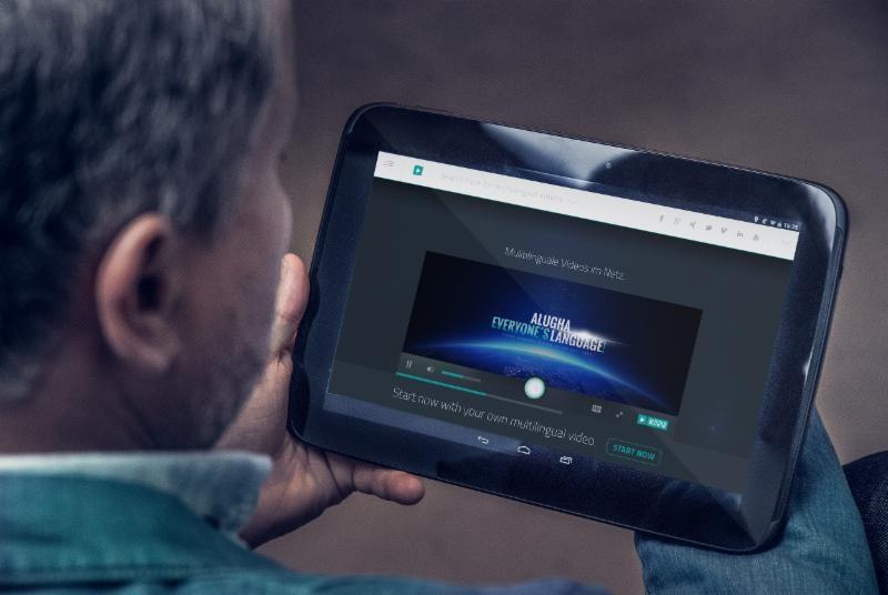 Mehrsprachige Videos auf unterschiedlichen Geräten alugha
