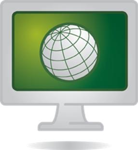 trend umwelt monitor globus grün ms free