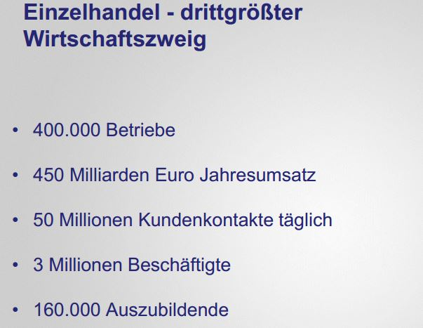 artikel hde deutscher einzelhandel daten