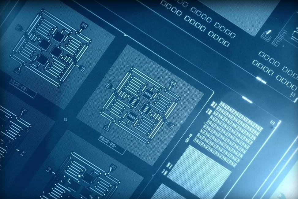 ibm four qubit square circuit (c) ibm research