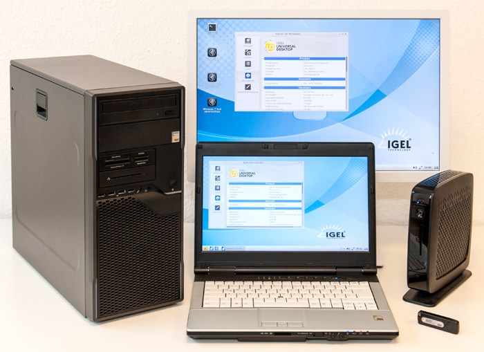 foto igel server based computing thin clients