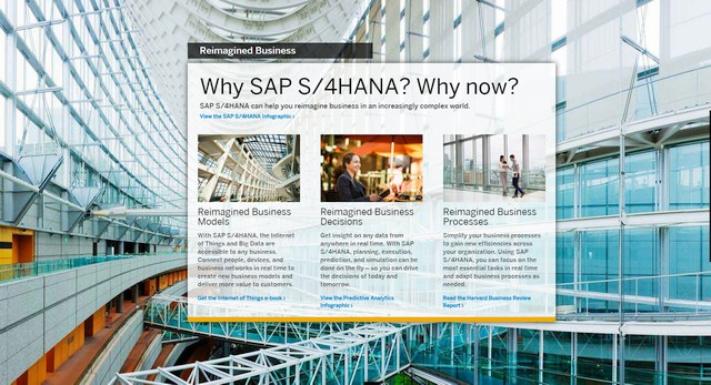 screenshot sap s 4hana