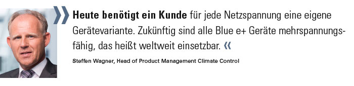 Steffen Wagner, Head of Product Management Climate Control