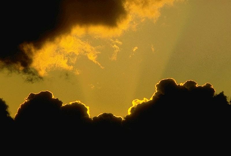foto wolken sonnenuntergang db free
