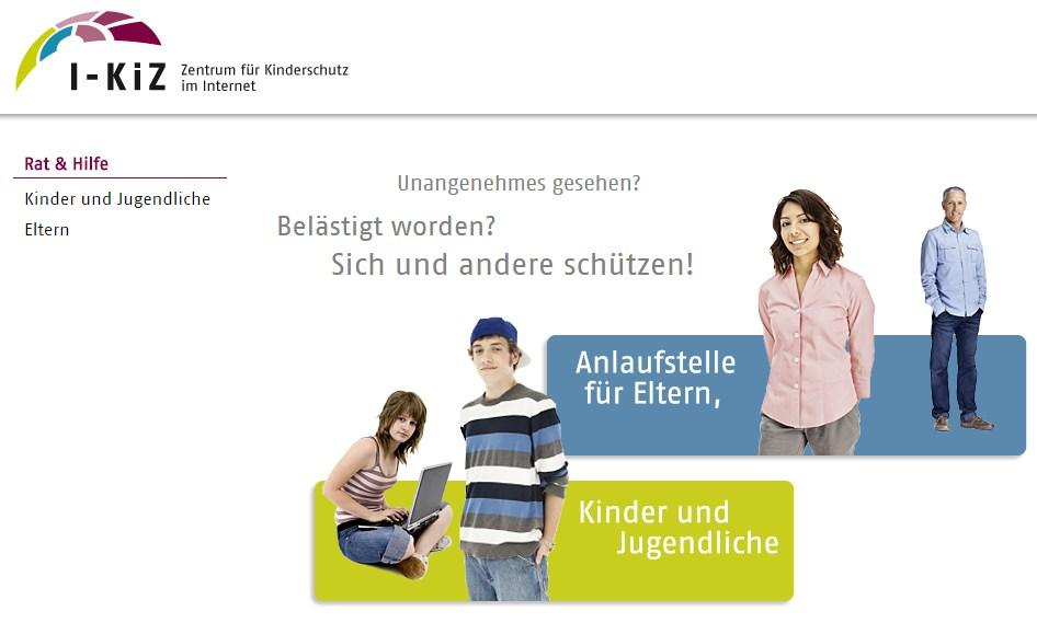 screenshot (c) i-kiz kinderschutz im internet