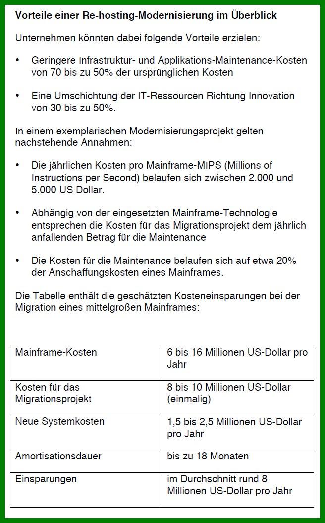 tabelle cgi vorteile modernisierung mainframe