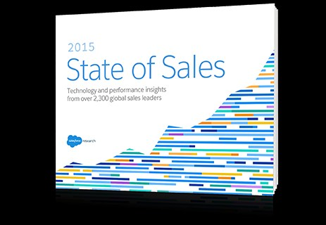 cover salesforce state of sales
