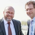 Matthias Berlit und Ludger Schuh,