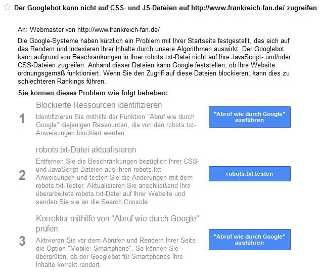 screenshot osg google CSS JS