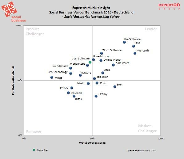 grafik experton social enterprise networking suites d