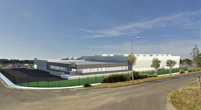 illu Cegeka_Data Centre Geleen - Artist impression
