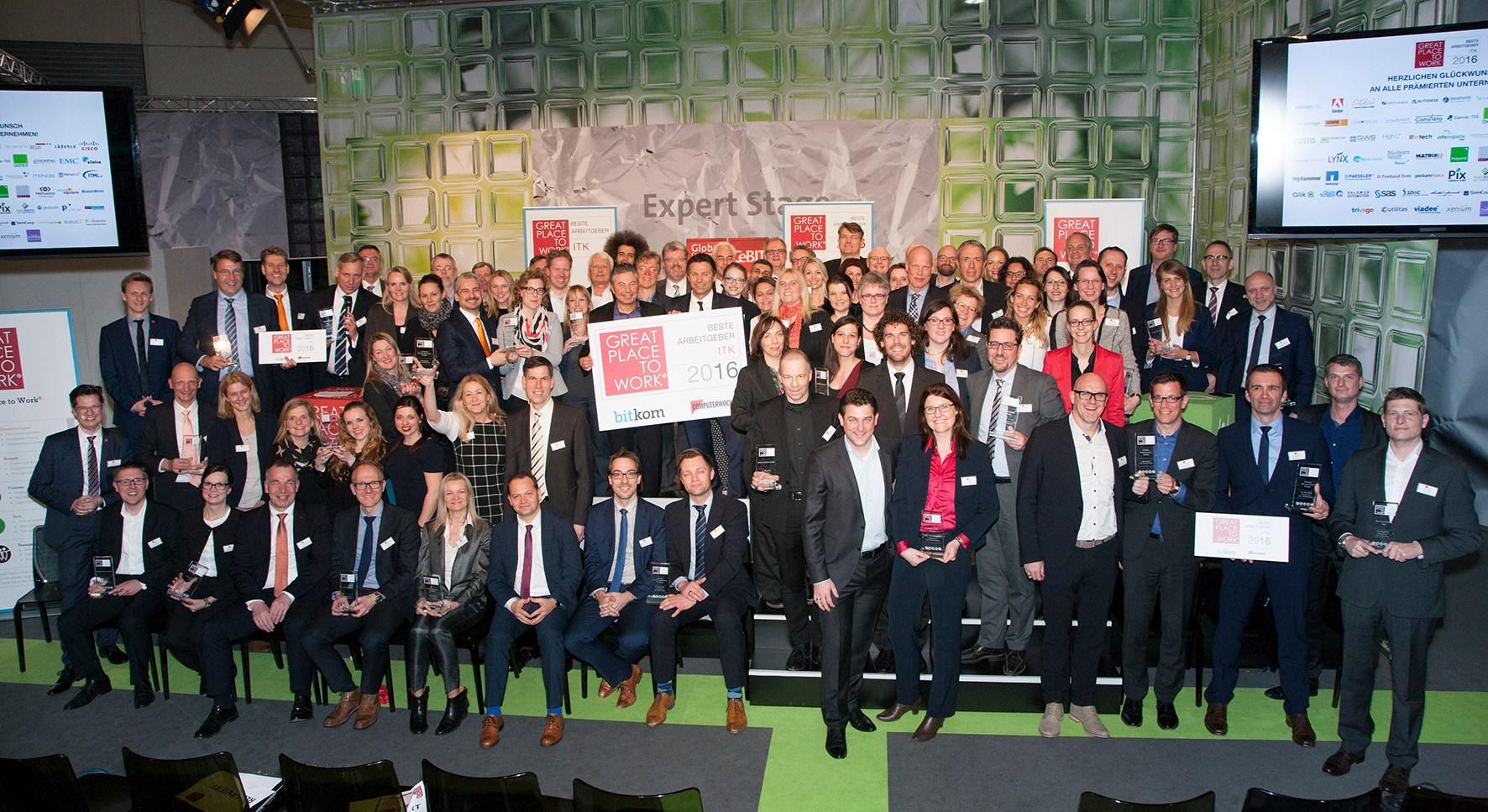 foto Beste Arbeitgeber in der ITK 2016 - Fotografie Przybyla