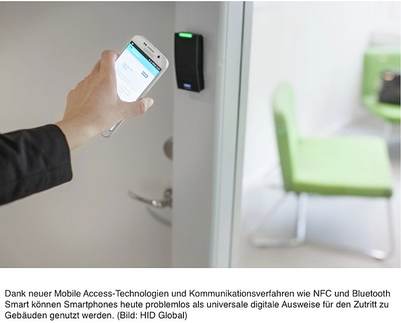 HID_Mobile_Access smartphone
