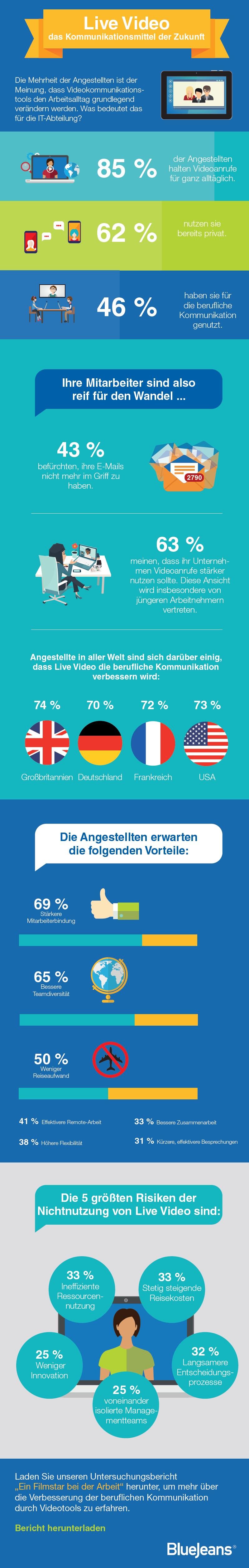 infografik bluejeans videokonferenz