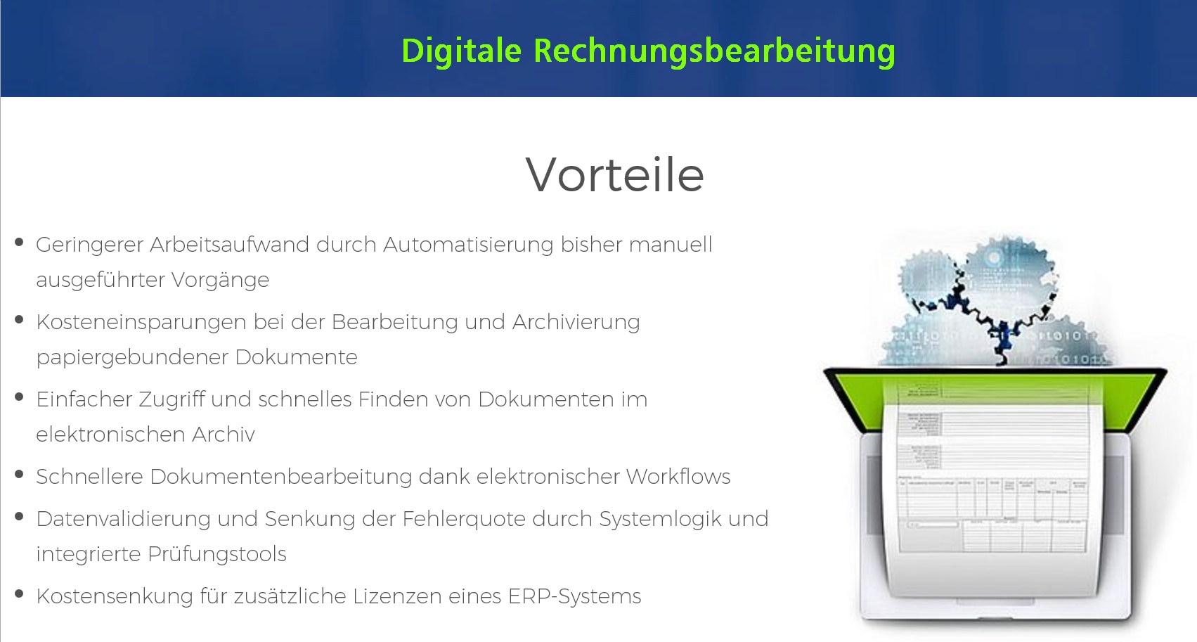 screen comarch digitale rechnungsbearbeitung