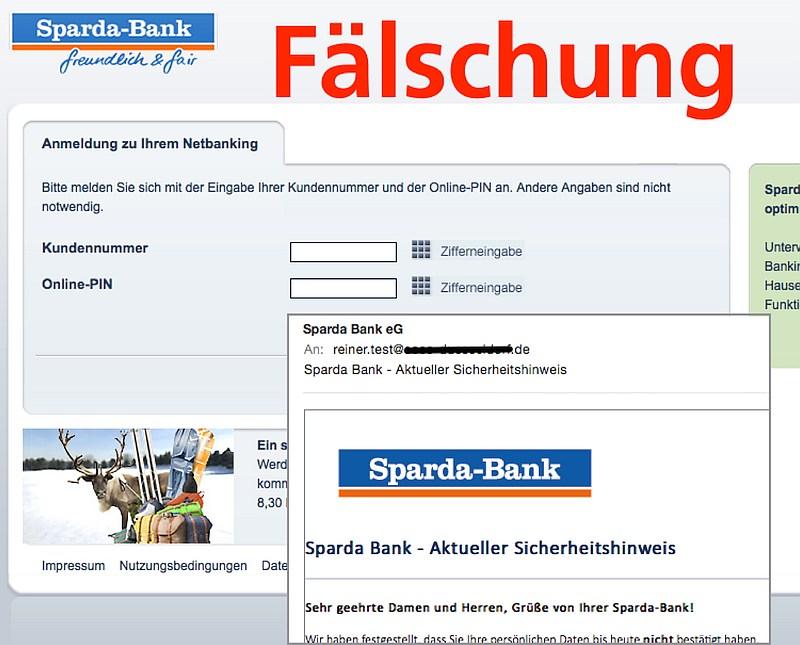 screen roboform verizon phishing-Sparda-Bank
