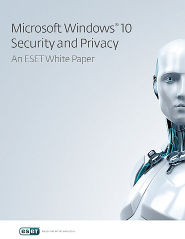 cover (c) eset windows 10 security and privacy