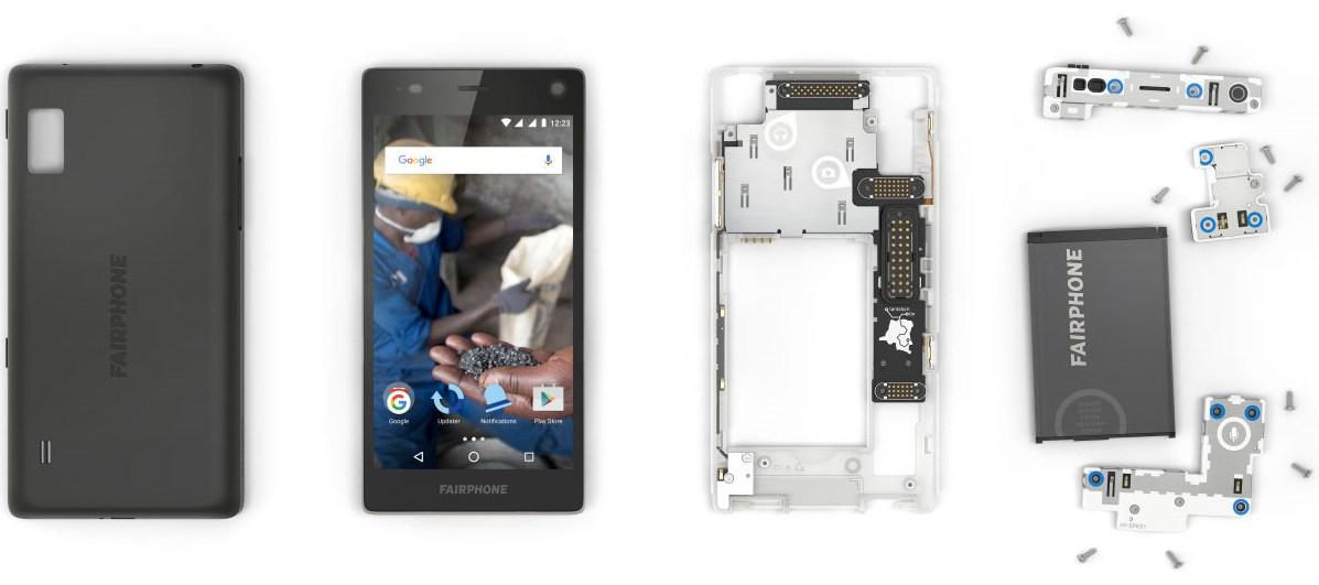 foto fairphone 2 smartphone