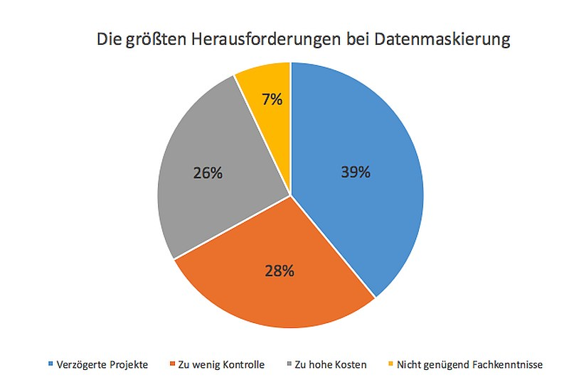 grafik delphix Pie Chart Herausforderungen