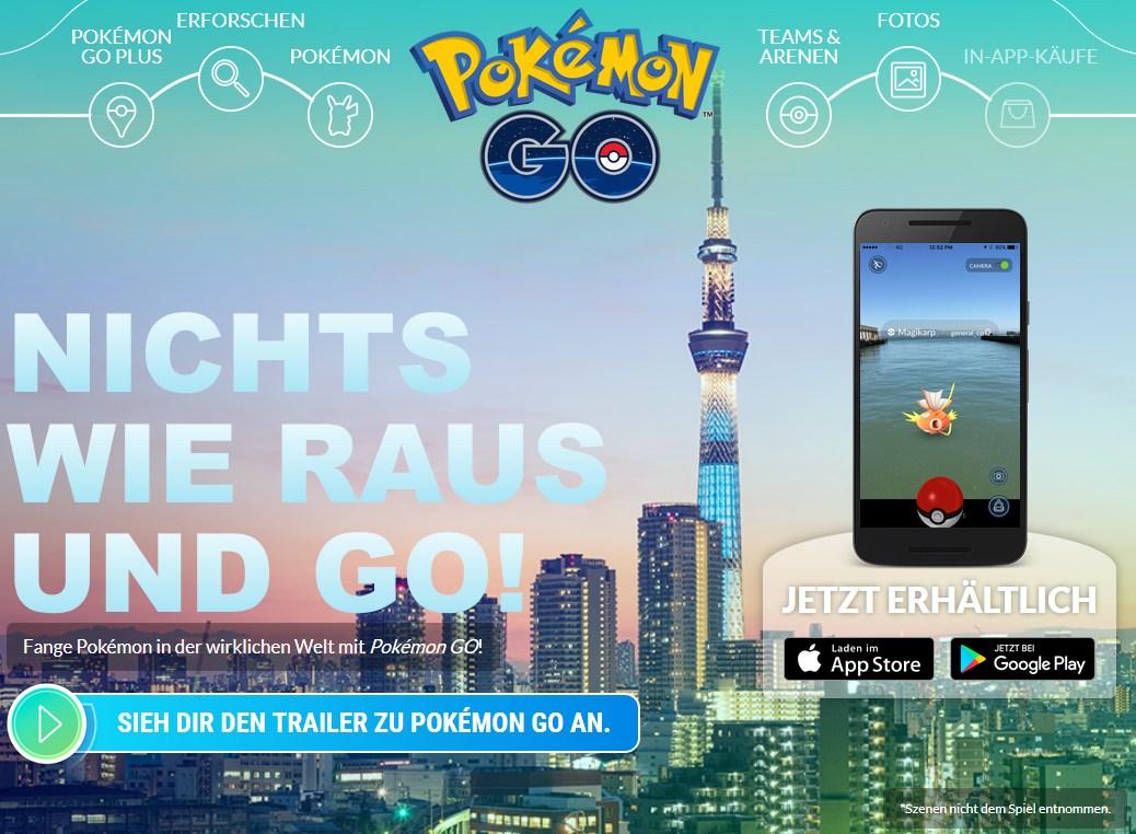 screen (c) pokemon nintendo go