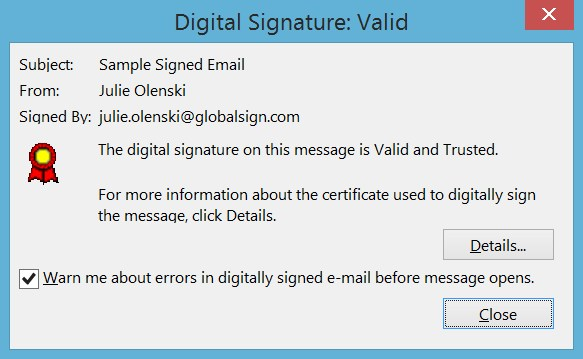screen globalsign fake e-mail 5
