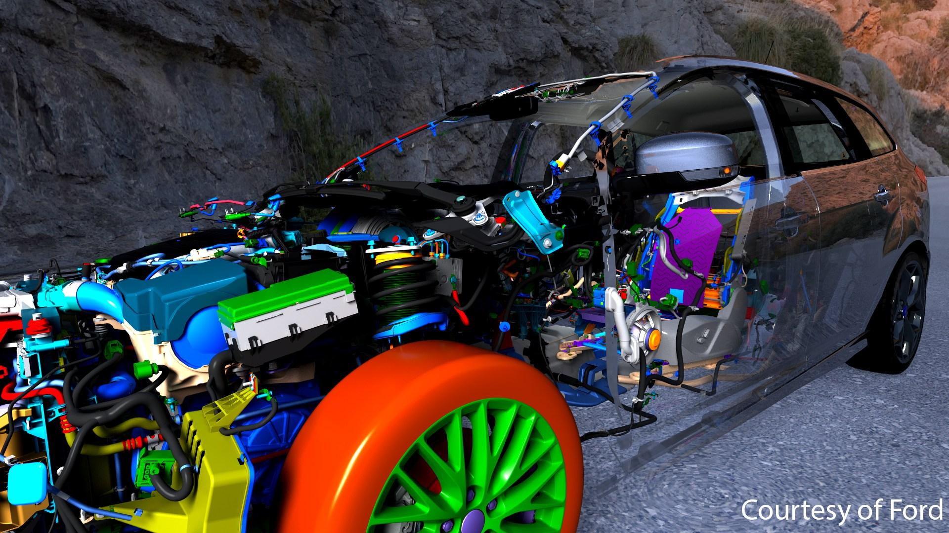 foto vdc Bildquelle ESI - Ford_Focus_CAD