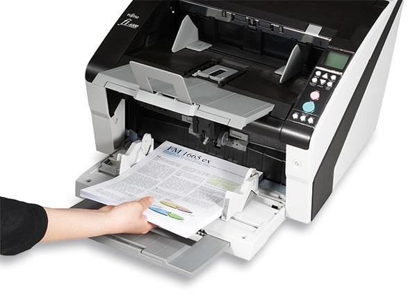Läuft und läuft: der Dokumentenscanner fi-6800 von Fujitsu.