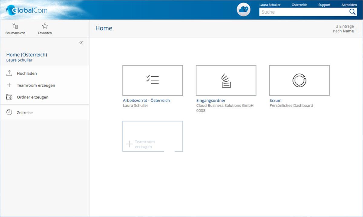 In sogenannten »Eingangsordnern« können in der Fabasoft Cloud Regeln definiert werden, anhand derer klassifizierte Dokumente in diesem Ordner automatisch weiterverarbeitet werden.