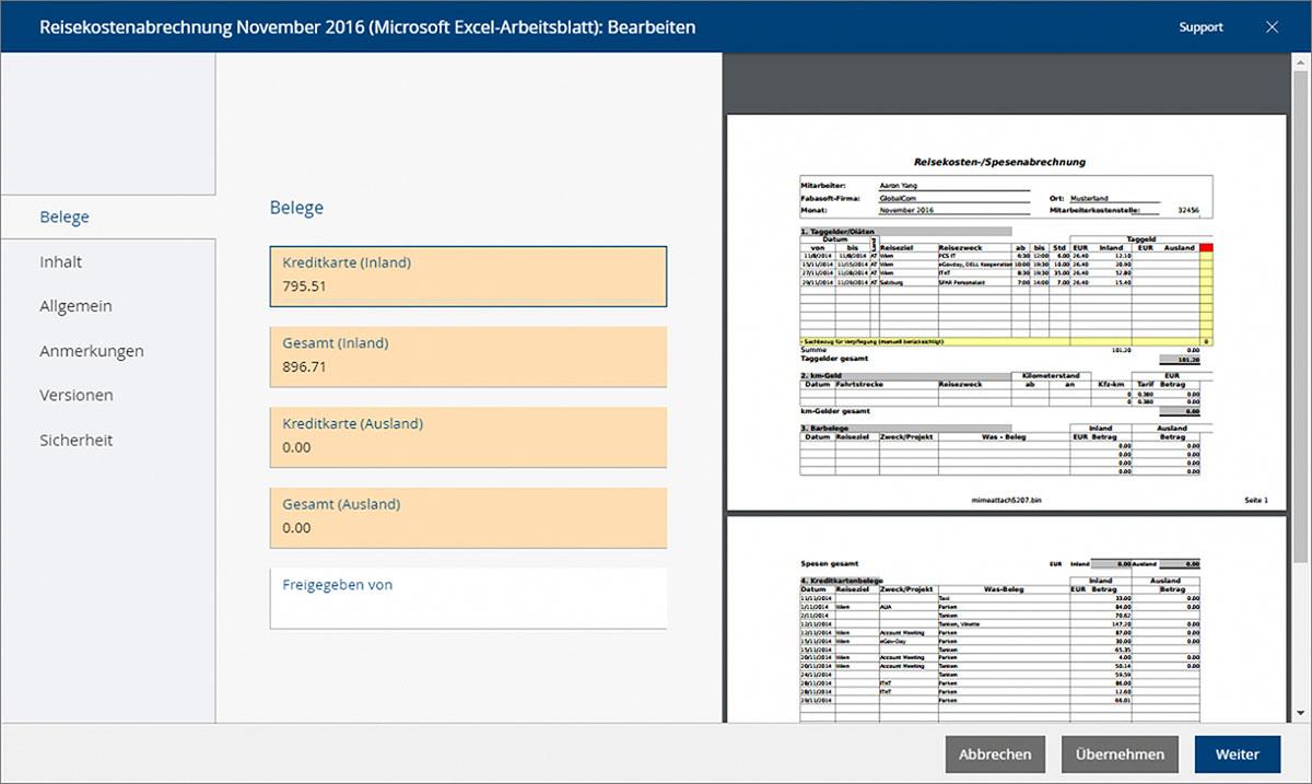 Mit Mindbreeze Inspire können Metadaten aus Dokumenten in der Fabasoft Cloud vollständig automatisch ausgelesen, zugewiesen und für die Steuerung von digitalen Workflows verwendet werden.