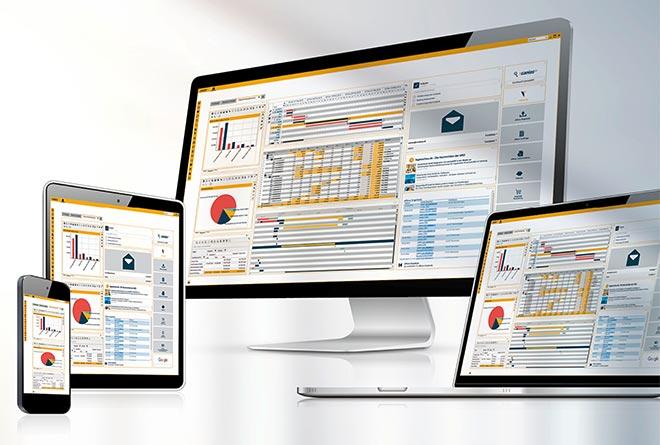 Die offene, objektorientierte Systemarchitektur erlaubt nicht nur die Prozesssteuerung über Unternehmensgrenzen hinweg, sondern auch eine komfortable Einbindung von Fremdsystemen und einen systemübergreifenden Datenaustausch.