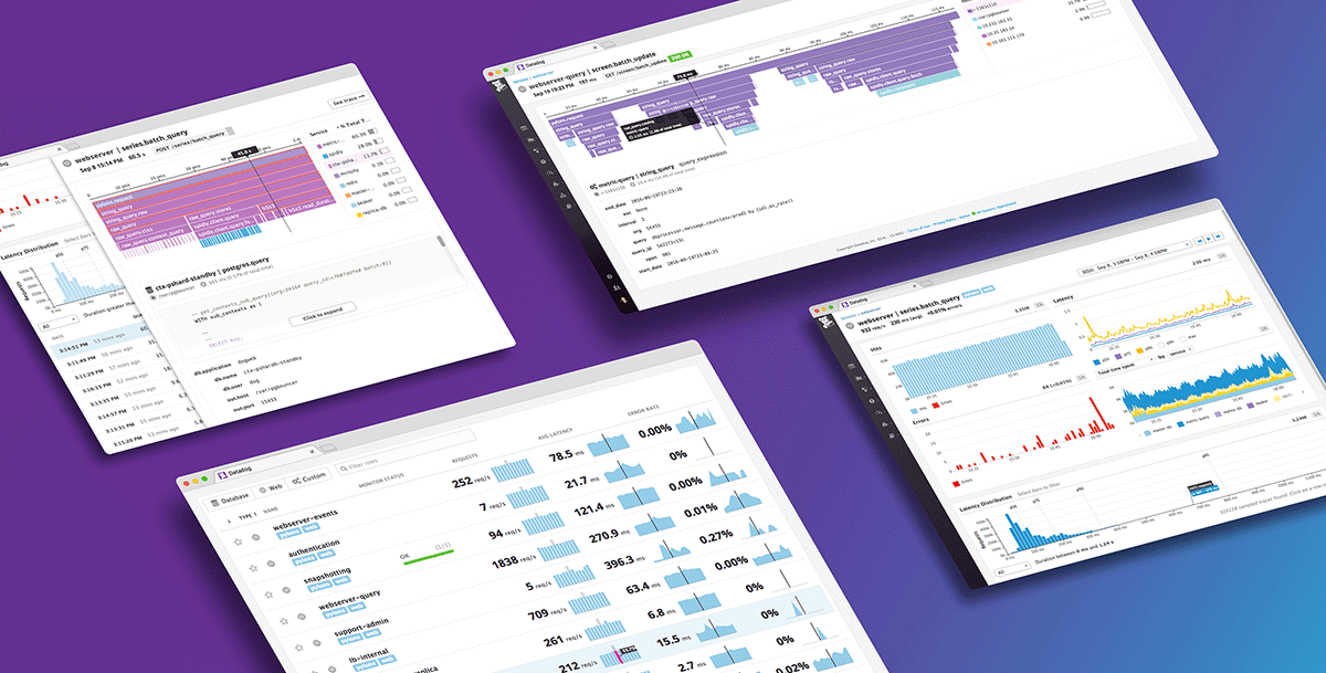 Datadog ist ein Monitoring-Dienst für hybride Cloud-Anwendungen, der seinen Kunden dabei hilft, die Agilität und Effizienz zu verbessern und End-to-End-Sichtbarkeit für alle Anwendungen und die gesamte Organisation zu erreichen.