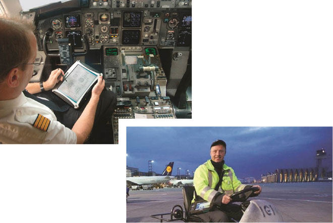 Der Frankfurter Flughafendienstleister Fraport nutzt die »Mobile Performance Management Suite« von NetMotion zur Optimierung des Datenverkehrs zwischen seiner Zentrale und seinen mobilen Mitarbeitern auf dem Flughafengelände.