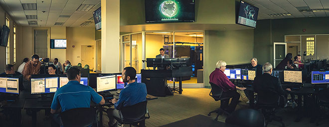 Das Cyberbit »Cyber Range« Training Center in den USA.