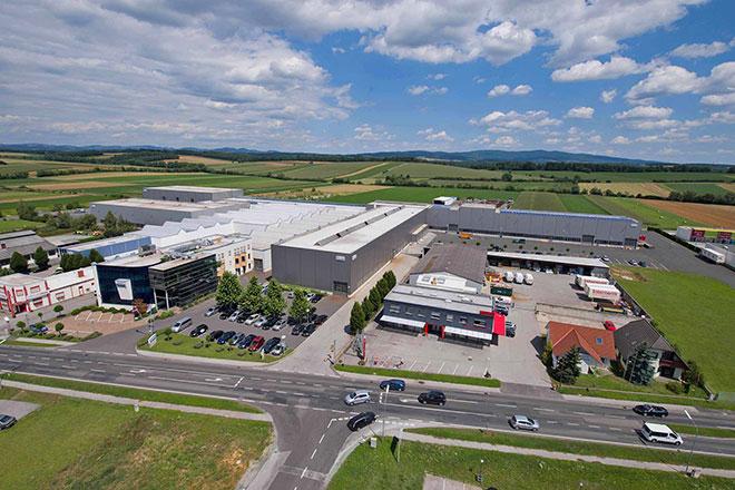 Unternehmenszentrale der Unger Steel Group in Oberwart, Österreich