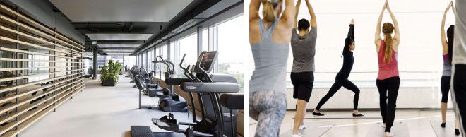Das hauseigene Gesundheitszentrum vMove wird von ausgebildeten Physio- und Sporttherapeuten geleitet.
