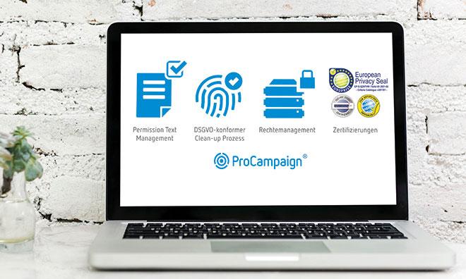 Unternehmen, die digitales Marketing betreiben, benötigen praktikable Prozesse und darauf abgestimmte wirtschaftliche Softwarelösungen. In der Königsklasse spielen zertifizierte Anwendungen, die den Datenschutz für wesentliche Punkte gleich mitliefern.