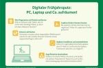 Digitaler Frühjahrsputz: PC und Laptop richtig aufräumen